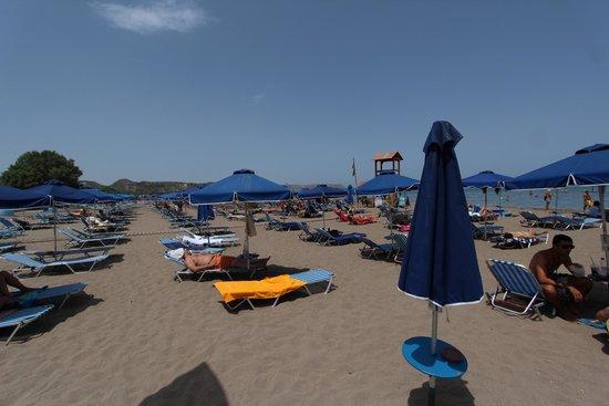 Faliraki Beach : beach
