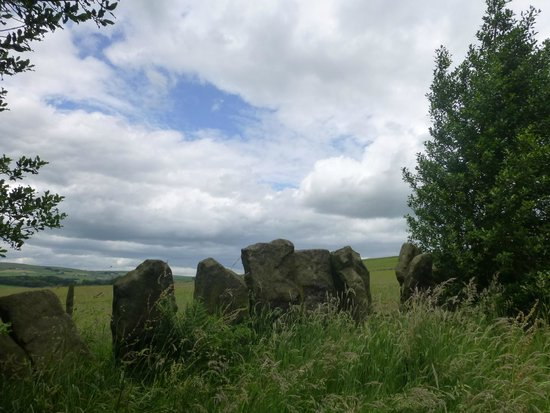 Wycoller Village & Country Park: Vaccary Stones above Wycoller