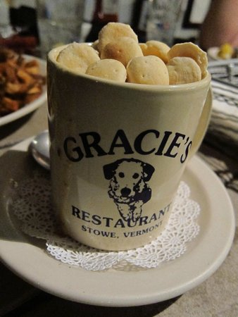 Gracie's : Cup of clam chowder