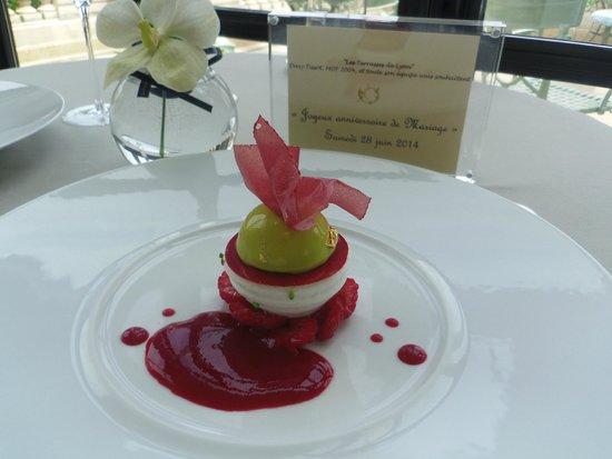 Les Terrasses de Lyon : Superbe dessert!!!