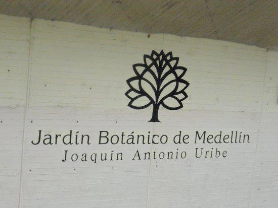 Jardin Botanico de Medellin : Entrada
