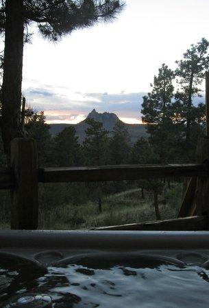 Pikes Peak Resort: View from hot tub
