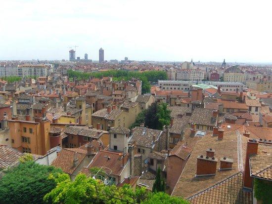 Les Terrasses de Lyon : Vue sur le vieux Lyon