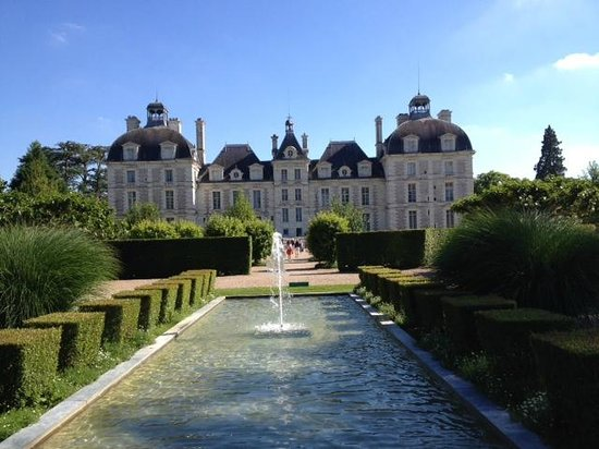 Château de Cheverny : View from the park