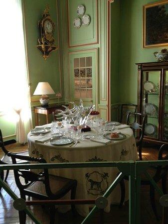 Château de Cheverny : Morning salon