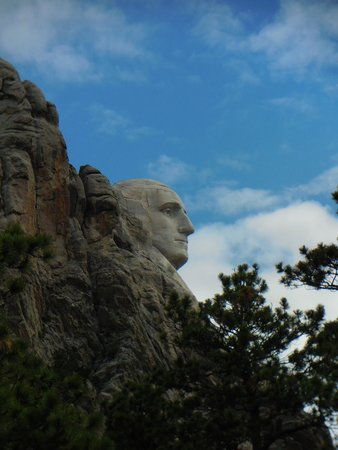 Mount Rushmore National Memorial: Just George