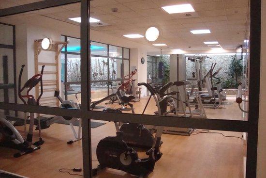 Novotel Krakow Centrum: salle de fitness