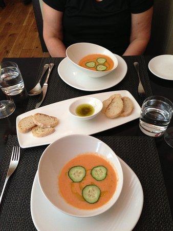 Wedgwood The Restaurant: Gazpacho