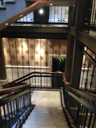 ABode Glasgow : historic staircase