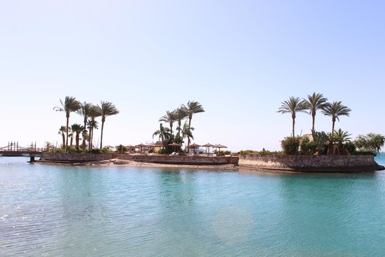 Hurghada Marriott Beach Resort : Островок
