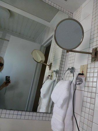 Washington Square Hotel: Bathroom- that mirror was fantastic