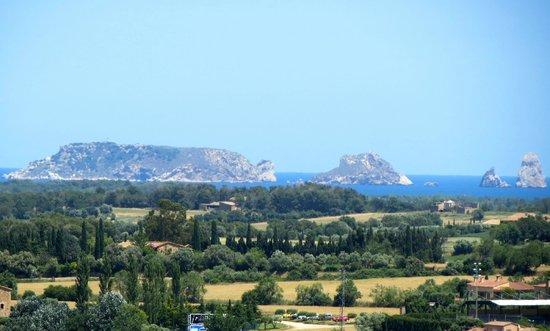 Vila Vella (Old Town): view of Costa Brava