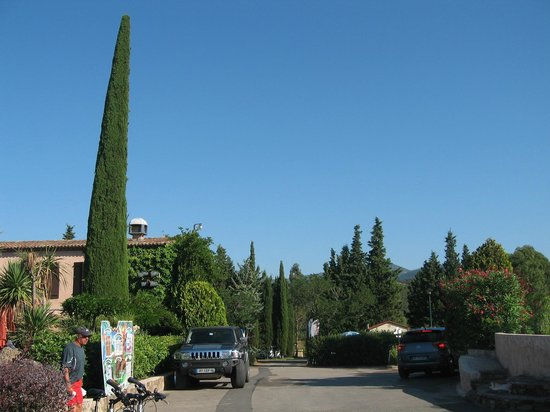 Esterel Caravaning: View from main area