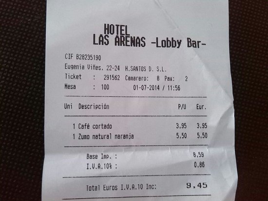 Hotel Las Arenas Balneario Resort: Atraco sin pistola!! Jamás me sentido mas estafada.