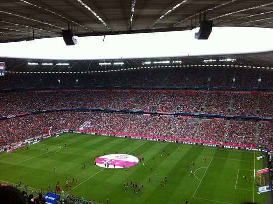 Allianz Arena: Bayern V Barcelona