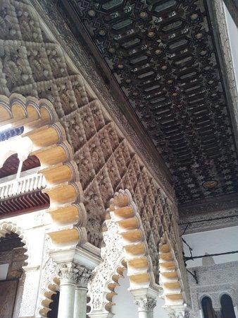 Real Alcázar: détail mauresque