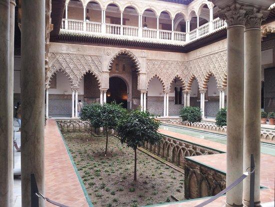 Real Alcázar: Calme