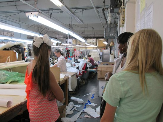 Urban Oasis Shopping Tour Day Tours: Sewing Dresses For Market