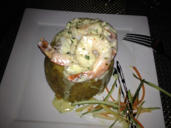 Pasion by Chef Myrta: Mofongo with shrimp