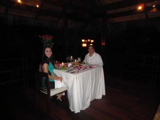 Tabacon Thermal Resort & Spa: Cena de Gala en Bungalow Privado