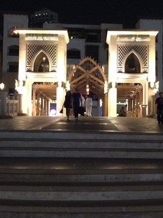 Dubai Fountains: 噴泉旁的觀賞橋