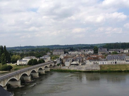 Chateau d'Amboise: View over the Loire