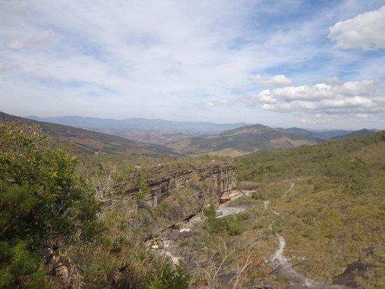 Parque Estadual do Ibitipoca: Vista geral do parque a partir do circuito das águas