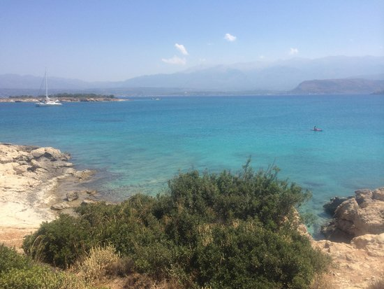 Chania Prefecture, Greece: Vista dalla spiaggia