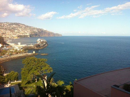 Belmond Reid's Palace: Funchal visto da varanda do quarto