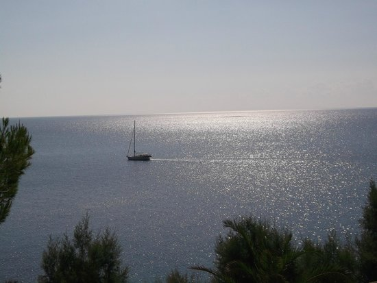 Palataki Absolute Blue: The Ionian Sea, view from the room