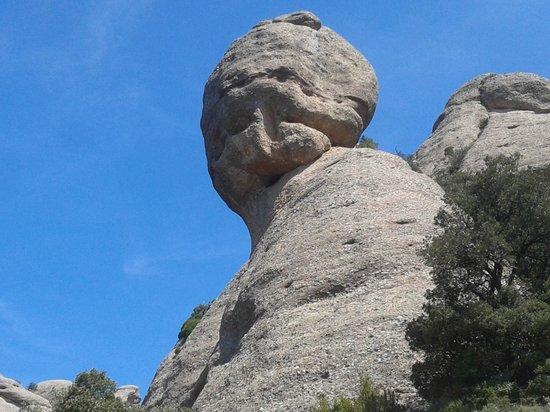 Sant Jeroni: El Cap de Mort
