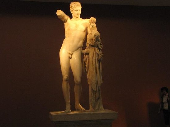 Archaeological Museum at Ancient Olympia: Statue of Hermes