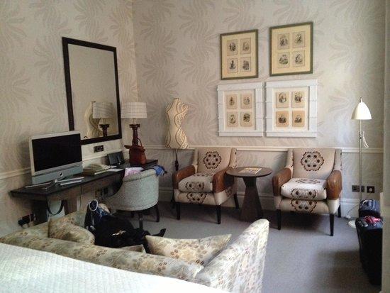Covent Garden Hotel: Unser Zimmer von der anderen Seite