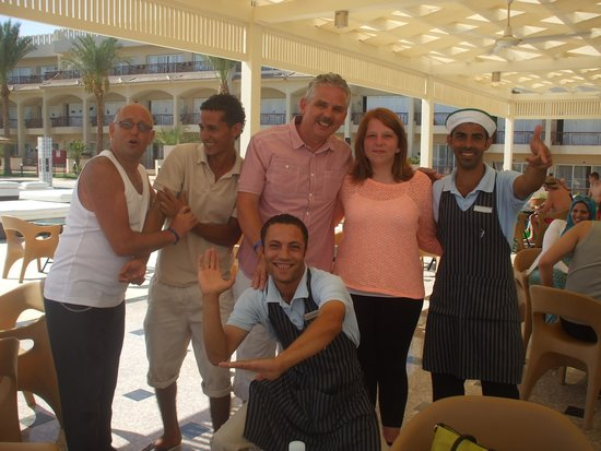 Royal Albatros Moderna Sharm el-Sheikh: great guys