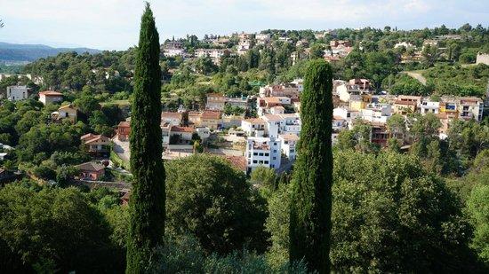 Paseo de la Muralla (Passeig de la Muralla): вид на город