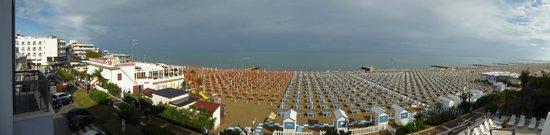 Hotel Nettuno : Panorama spiaggia