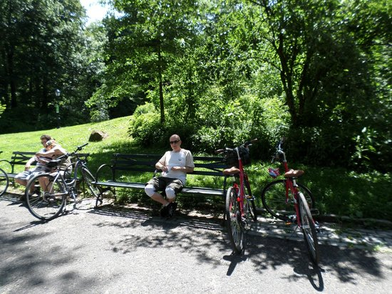 Central Park Sightseeing : Central Park bike rental