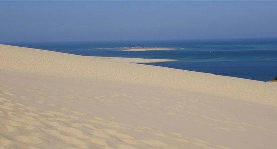 Dune du Pilat : Vista sull'Atlantico