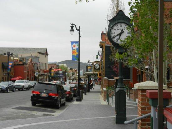 Park City Main Street Historic District: A View Down Main Street