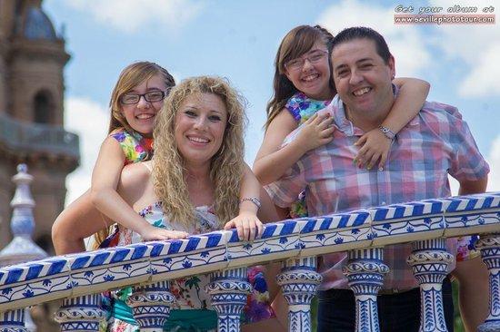 Photo Tour Seville: Family album