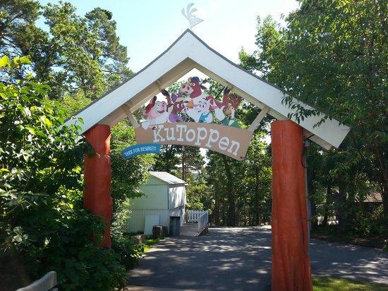 Dyreparken: Porten til Kutoppenområdet