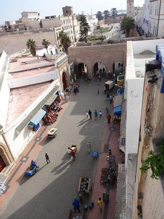 Essaouira Wind Palace : Vue de la terrasse