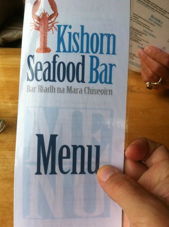 Kishorn Seafood Bar : Your entry to a fish treat!
