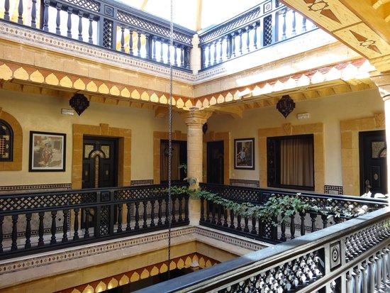 Essaouira Wind Palace : Vue de l'étage