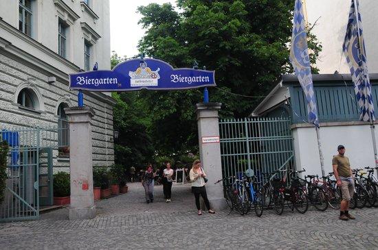 Hofbraukeller: Eingang