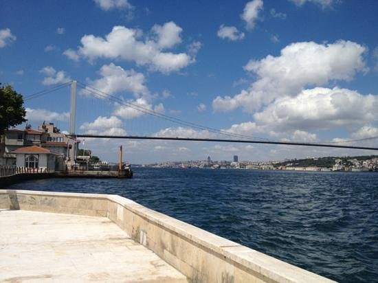 Bosphorus Strait: From Beylerbeyi shore