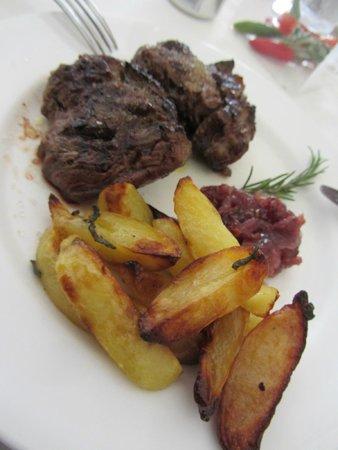 Trattoria degli Umbri: Boa comida