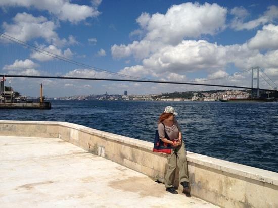 The Bosphorus Bridge: From Beylerbeyi shore