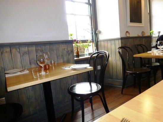 Blackfriars Restaurant: Rincón del comedor