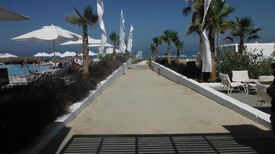 Club Med Yasmina : verso la spiaggia
